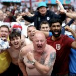 England fans once again prove why they're the best in the world